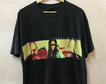Vintage 1998 Lenny Kravitz Tour Tshirt American Singer Songwriter