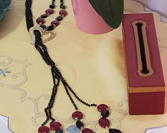 Semi-precious semiprecious gemstone Necklace