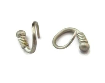 Huggie Earrings, for Guys, Mens Earrings, Sterling Silver Mini Hoops For Men , Small Huggie Hoop Earring,  Small Silver Hoops,