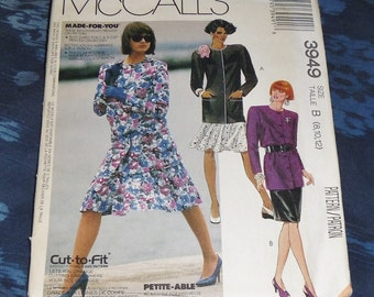 Vintage McCall's Pattern #3949 Size B (8,10,12) Skirts & Jackets Uncut and Unused from 1988