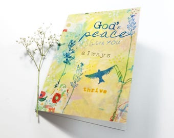 God's Peace Note Card 5x7