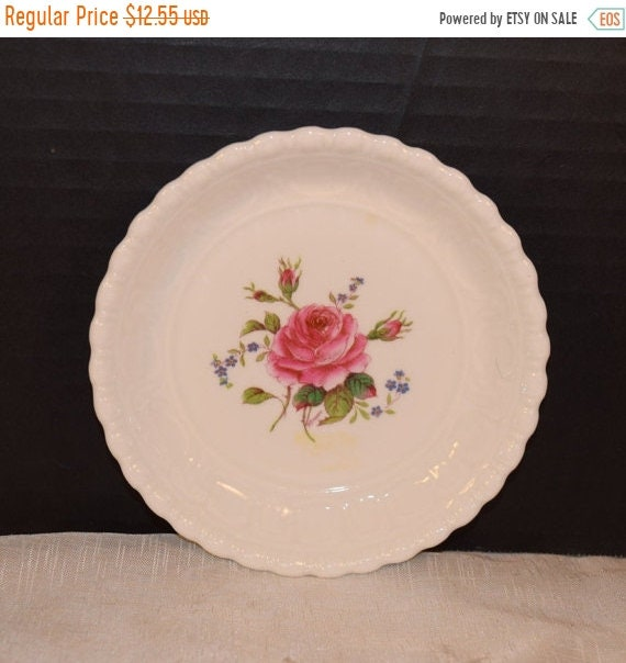 Delayed Shipping Coalport Birbeck Rose Bread Butter Plate Vintage Coalport Pink Rose Pin Dish Fine Bone China Collectable Replacements Made