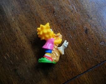 1990 Simpsons Burger King Kids Meal Toy, Lisa Simpson.  Burger King Inc.