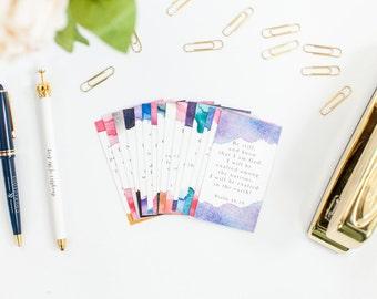 Encouragement Verse Card Set