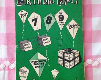 Vintage Birthday Party Game Tablet for Boys 7, 8, 9 Year Olds