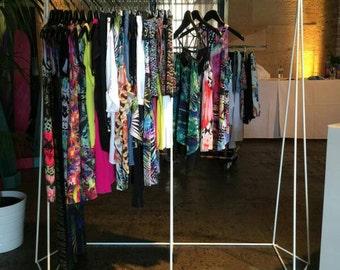 Geometric Clothes Rack