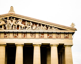 "Nashville Art, Photography, Parthenon, Nashville Landmark, Centennial Park, Nashville Wall Decor, Nashville Print,  ""Parthenon"""