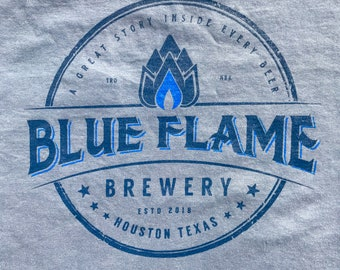 Blue Flame Brewery T-Shirt