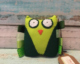 SALE -- Greenly the Owl Toy