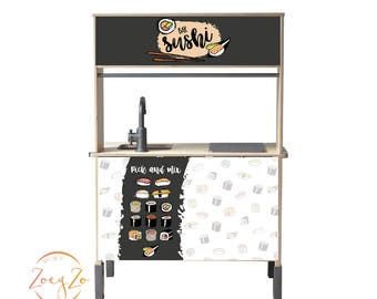 Set ' Pick & Mix ' for children's kitchen from IKEA
