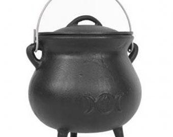 Cast iron Cauldrons • incense • metal work • ritual • altar • shrine