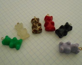 Teddy bear, Teddy bear polymer clay colors