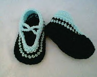 0071 Unisex Baby Shoes Pattern,Baby LOOPIES Shoes,Baby Boys Pattern,Baby Girls Pattern by CarussDesignZ