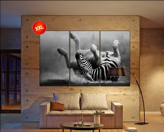 zebra wall decor art  zebra black white  zebra canvas wall art  canvas wall art
