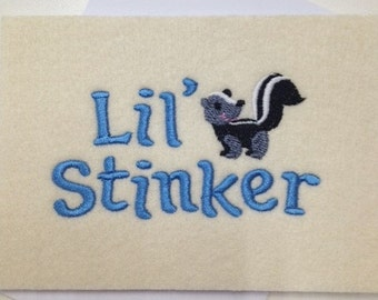 Baby Shower Cards - Lil' Stinker