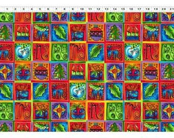 Laurel Burch Fabric Enchantment Squares 1 Yard Y1966-56M