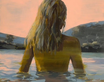 Endless Summer .  giclee art print