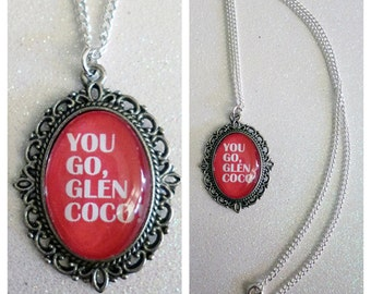Mean Girls Glen Coco Inspired Cameo Necklace