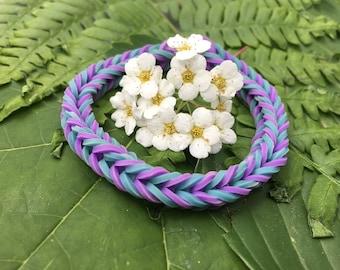 Blue & Purple Bracelet