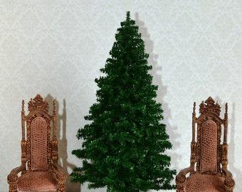 Dollhouse Miniature Christmas tree, Dollhouse Christmas tree, Miniature Christmas tree, to order, Scale 1:12, scale miniature.