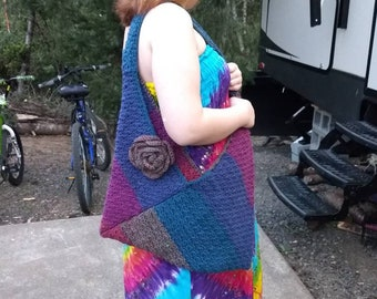 Crochet Zig Zag Bag