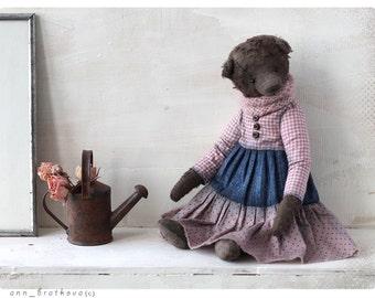 Bear Teddy Claudia 9 inch OOAK 22 cm