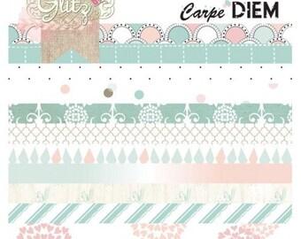 Glitz Design Carpe Diem 6x6 Paper Pad -- MSRP 6.00