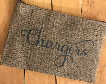 Chargers Bag, Travel Case for Chargers, Charging Cord Case