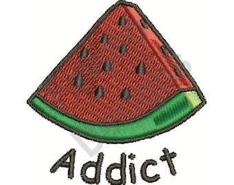 Watermelon Addict - Machine Embroidery Design