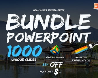 NEW OFFER | Super Bundle Powerpoint