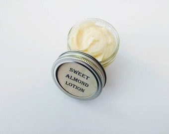 Sweet almond lotion