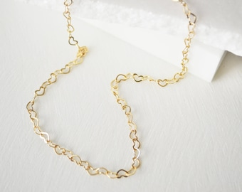 Heart Necklace, Gold Necklace, Dainty Necklace Gold, Dainty Gold Necklace, Choker, Simple Necklace, Choker Necklace, Gold Choker