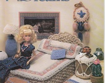Crochet Pattern Bedroom Furniture Desert Dreams by Annie's Attic Leaflet 544B