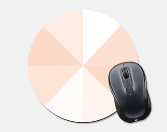 Mousepad Mouse Pad Geometric Mouse Pad Office Desk Accessories Office Supplies Pink Mousepad Pink Mouse pad Geometric Mousepad Triangle  Cco