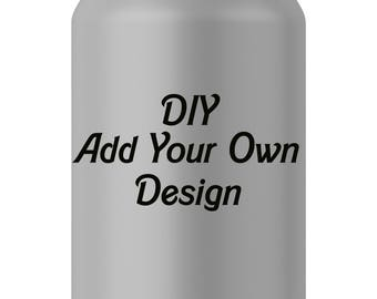 DIY Soda Can Label Template and Mock Up (PSD)
