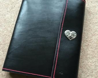 A4 Leather Ring Binder/Leather Ringbinder/Leather Binder