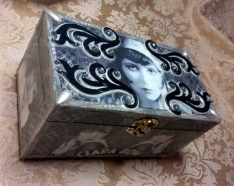 CLEARANCE Clara Bow Trinket Box