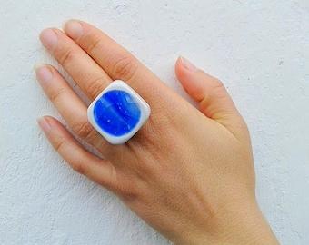 """Ring """"Acqua"""""""