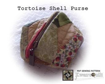 Tortoise Shell Purse PDF PATTERN and TUTORIAL