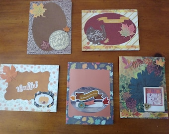 Thanksgiving Card Pack