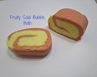 Fruity Solid Bubble Bath- Bubbly