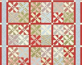 SALE!! Minick & Simpson Quilt Pattern - Patrick's Patchwork II