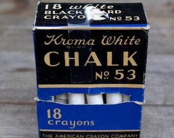 Vintage Kroma White Chalk No. 53