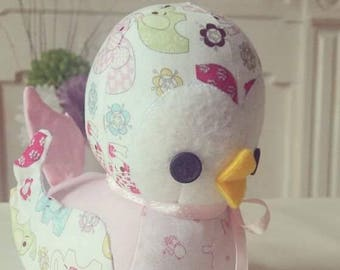 Baby Ducklings, perfect for your own little duckling, hand made to order, made to your colour scheme / theme, can be personalised