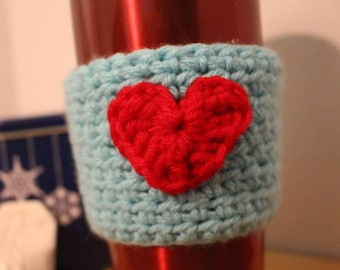 For coffee cup cozy
