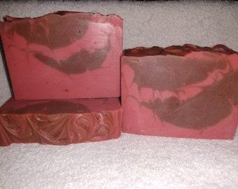 Cedar and Saffron Vegan Cold Process Soap