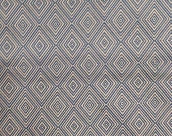 Sky Blue woven geometric home decor Mulripurpose upholstery fabric