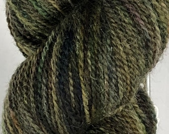 Ready to ship, 50g, Snow Dyed Yarn, Hand Dyed Yarn, Variegated Yarn, Sock Yarn, Fine Highland Wool:Alpaca Yarn