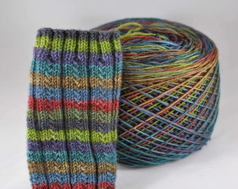 "Self-Striping Yarn - ""Outlander"" (Beartooth Base)"