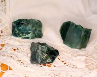 Raw Green Jasper